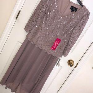 Alex Evenings Formal Dress, Size 6 NWT